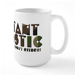 Militant Agnostic Large 15oz Mug