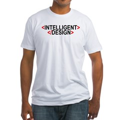 Intelligent Not By Design Fitted Tee Shirt