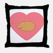 Hamster Throw Pillow