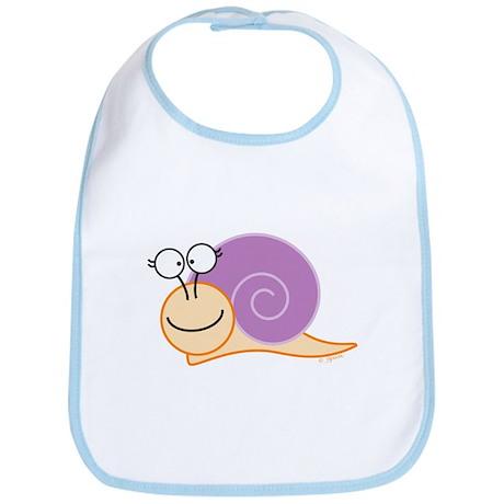 Girl Snail Bib