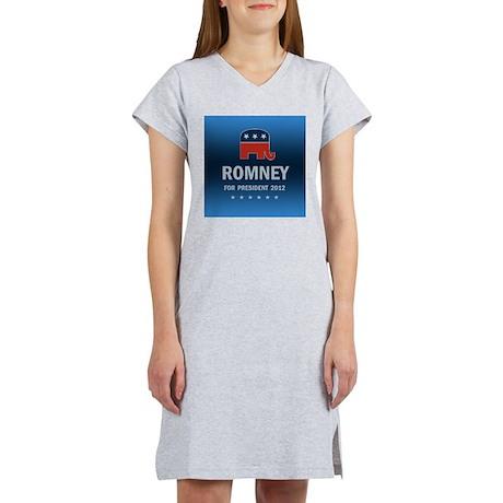 Mitt Romney For President Women's Nightshirt