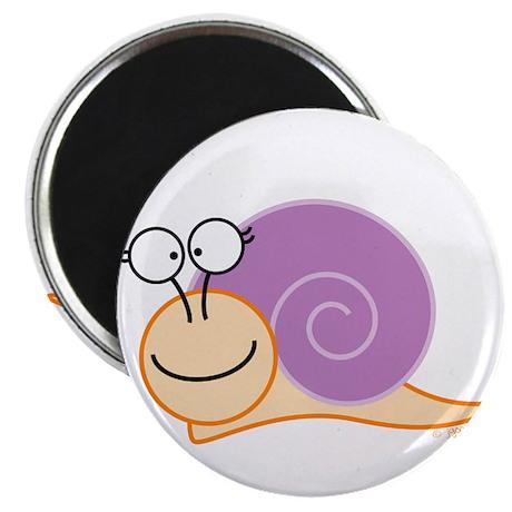 Girl Snail Magnet
