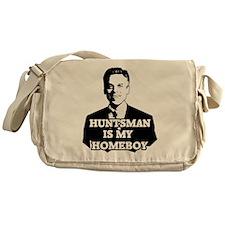 Jon Huntsman Is My Homeboy Messenger Bag