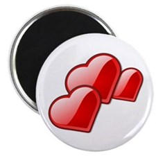 """Red Heart Trio 2.25"""" Magnet (10 pack)"""