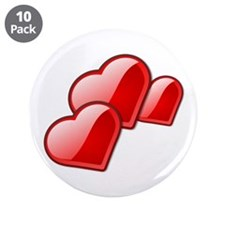 """Red Heart Trio 3.5"""" Button (10 pack)"""