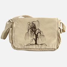 Weeping Willow Tree Messenger Bag