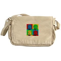 Buddha Art Messenger Bag
