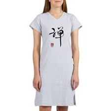 Zen Calligraphy Women's Nightshirt