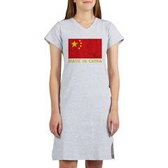 Vintage Made In China Women's Nightshirt