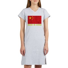 Vintage Made In China Women's Nightshirt