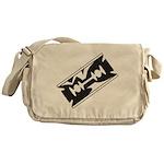 Razor Blade Messenger Bag