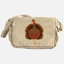 Cute Turkey Messenger Bag