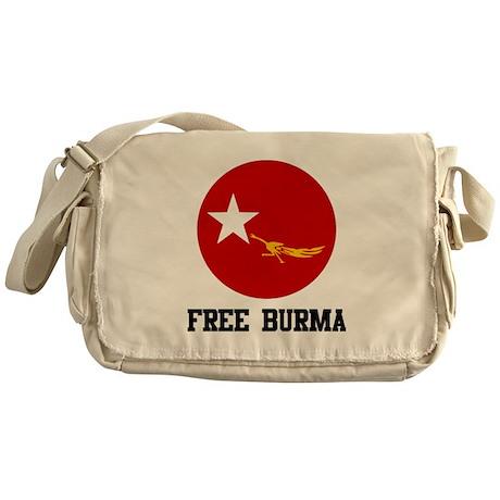 Free Burma Messenger Bag