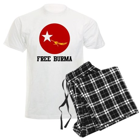Free Burma Men's Light Pajamas