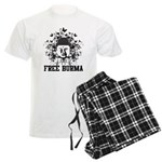 Buddha Free Burma Men's Light Pajamas