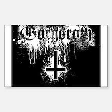 Gorgoroth Sticker (Rectangle)
