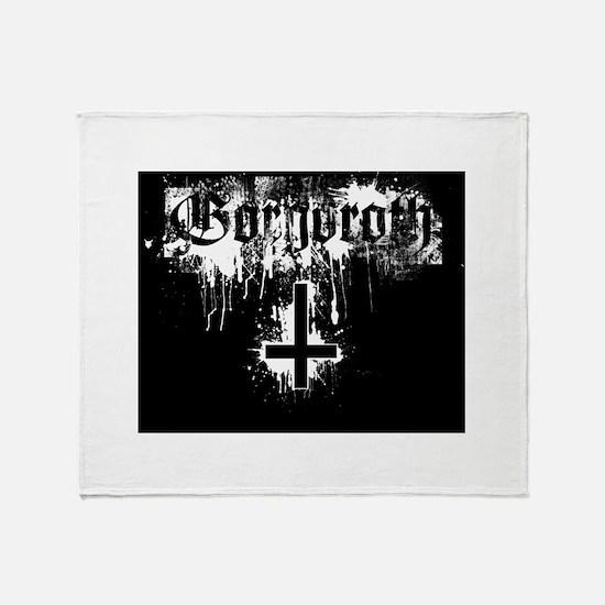 Gorgoroth Throw Blanket