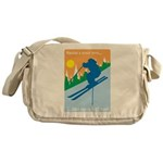 Having A Great Time Messenger Bag
