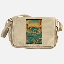 Hiroshige Navaro Rapids Messenger Bag