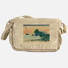 Cute Ukiyo e Messenger Bag