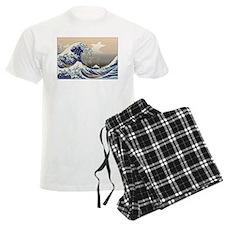 Hokusai The Great Wave Pajamas