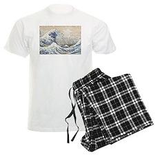 Japan Big Wave Pajamas