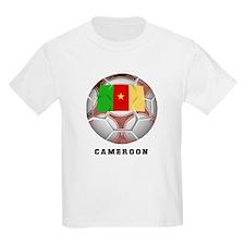 Cameroon soccer Kids T-Shirt
