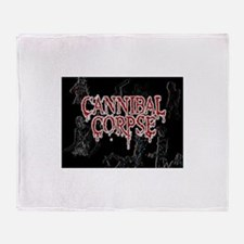 Cannibal Corpse Throw Blanket