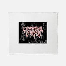 Cannibal Corpse Throw Blanket