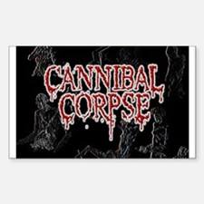 Cannibal Corpse Sticker (Rectangle)