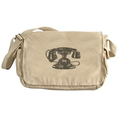 Antique Telephone Messenger Bag