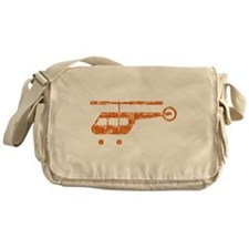 Retro Helicopter Messenger Bag