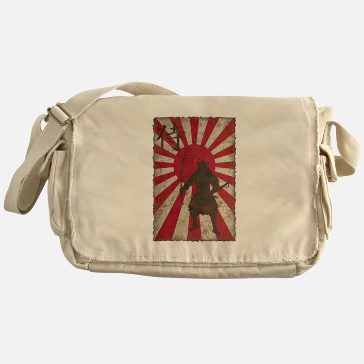 Vintage Samurai Messenger Bag