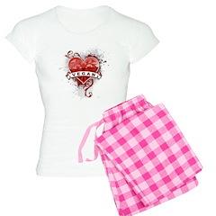 Heart Vegan Pajamas