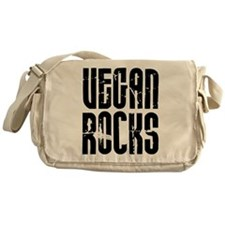 Vegan Rocks Messenger Bag