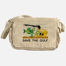 Save The Gulf Messenger Bag