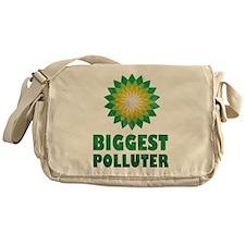 Vintage BP Biggest Polluter Messenger Bag
