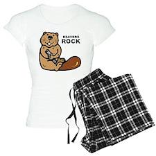 Beavers Rock Pajamas