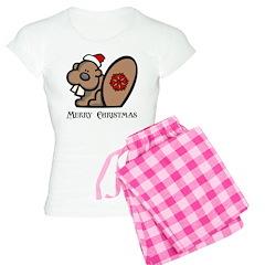 Christmas Beaver Pajamas