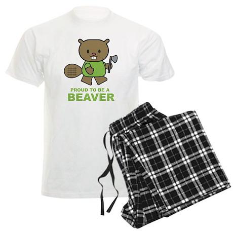 Proud To Be A Beaver Men's Light Pajamas