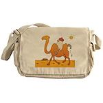 Funny Camel Messenger Bag