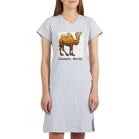 Camels Rock Women's Nightshirt