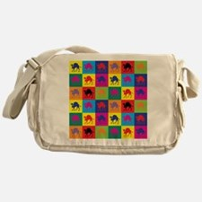 Pop Art Camel Messenger Bag