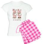 I Love Cats Women's Light Pajamas