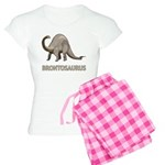 Brontosaurus Women's Light Pajamas