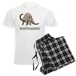 Brontosaurus Men's Light Pajamas