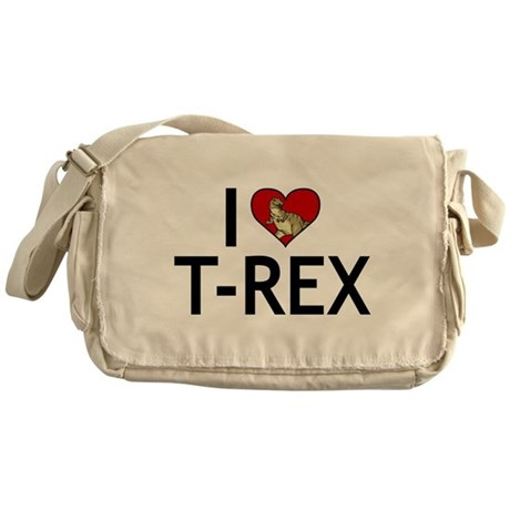 I Love T-Rex Messenger Bag