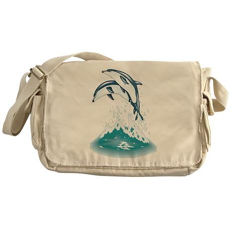 Dolphins Messenger Bag