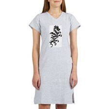 Tribal Dragon Women's Nightshirt
