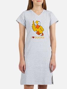 I Love Ducks Women's Nightshirt